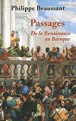 Passages, de la Renaissance au baroque (Musique)