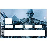 DECO-IDEES The Night King - Game of Thrones, Credit card Sticker, limited edition 300 ex. - Personalize Your Credit Card Visa or MasterCard with These Removable Stickers