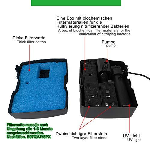 Zoom IMG-1 yorbay filtro 3 in1 sterilizzatore