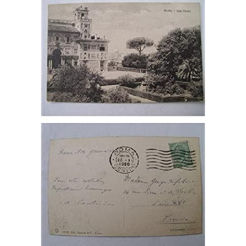 Antigua Postal - Old Postcard : Villa Medici - ROMA
