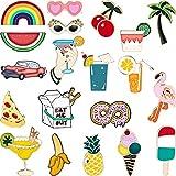 Hicarer 20 Pezzi Carino Smalto Spilla Badge Set Cartone Animato Spilla Badges Fermaglio per Abito Borsa Giacche Accessorio Artigianato DIY (Stile Set 1)