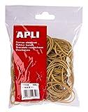 APLI Sachet de bracelets élastiques - 100 gr Ø 80 mm x 2 mm