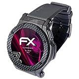 atFoliX Protection Écran Film de Verre en Plastique Compatible avec Omate Rise Verre...