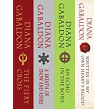 The Outlander Series Bundle: Books 5, 6, 7, and 8: The Fiery Cross, A Breath of Snow and Ashes, An Echo in the Bone, Written in MyOwn Heart's Blood