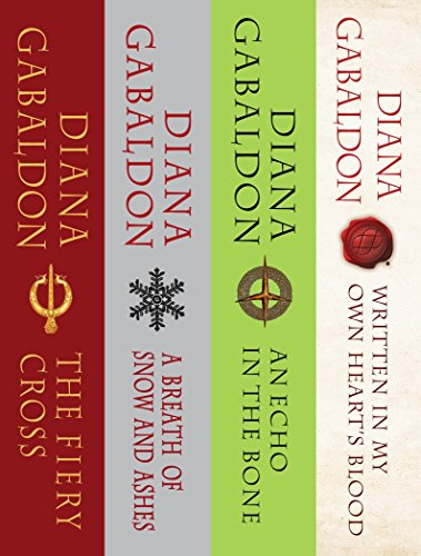 The Outlander Series Bundle: Books 5, 6, 7, and 8: The Fiery Cross, A Breath of Snow and Ashes, An Echo in the Bone, Written in My Own Heart's Blood (English Edition) por Diana Gabaldon