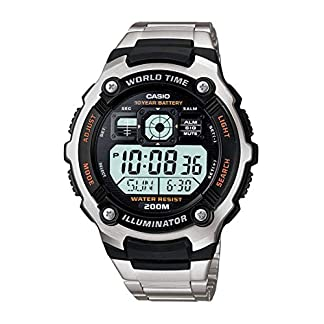 Casio Youth-Digital Black Dial Men's Watch-AE-2000WD-1AVDF (D084)