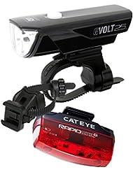 Cateye LED Fahrradbeleuchtung GVolt25 RC + TL-LD620G StVZO-Zulassung
