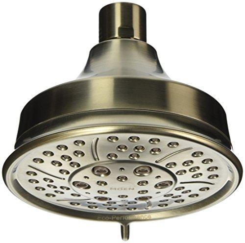 Moen 3638EPBN 4-spray Eco ducha en níquel del cepillo