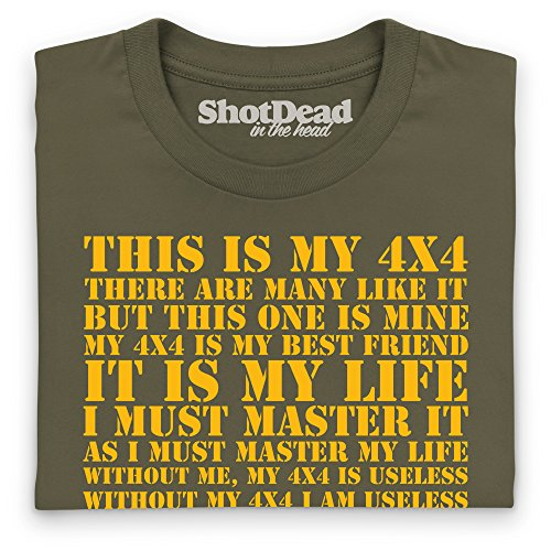 This Is My 4x4 T-Shirt, Herren Olivgrn