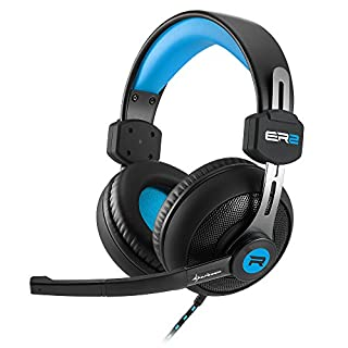 Rush ER2 Stereo Gaming Headset blau