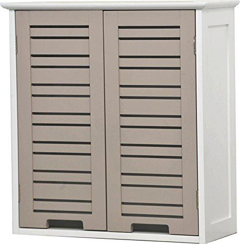 Hängeschrank Äberschrank fürs Badezimmer – 2 Türen – Schrank mit Charme