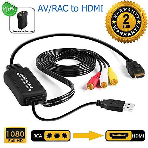 RCA to HDMI Converter, AV to HDM...