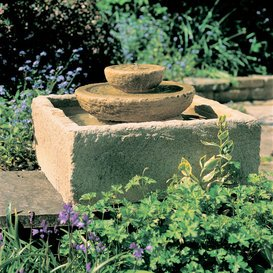 Gartentraum Garten Kaskaden Springbrunnen - Aubree, Ocker