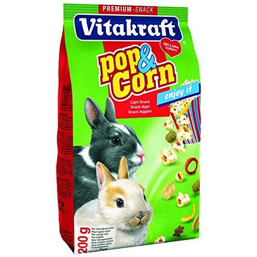 Vitakraft Pop & Corn Zwergkan 200gr-Snack Nagetiere