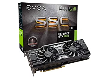 EVGA GeForce GTX 1060 SSCC DT ACX 3.0 Ekran Kartı
