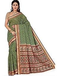 Aarti Apparels Women's New Gadwal Cotton Sari_GadwalCotton7040