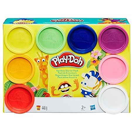 Hasbro Play-Doh A7923EU6 – Regenbogen, 8-er Pack