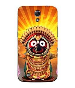 PrintVisa Designer Back Case Cover for Samsung Galaxy Mega 6.3 I9200 :: Samsung Galaxy Mega 6.3 Sgh-I527 (God rathyatra famous in nrown orange )
