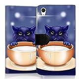 Wallet Book Style Flip Handy Tasche Case Schutz Hülle Schale Motiv Etui für Wiko Rainbow Jam - Flip UMH18 Design10