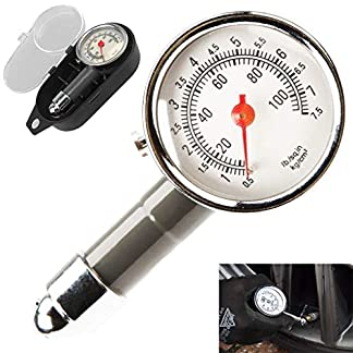 Tumao Medidor de Presión Neumáticos – Manómetro Presión Ruedas, Medición Rápida y Precisa, para Medidores de Presión de Neumáticos de Automóviles, Motocicletas, Bicicletas, SUV, RV o ATV etc