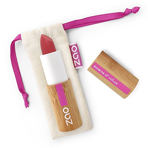 ZAO MAKE UP - Rouge à Lèvres Soft Touch - 435 ROUGE GRENADE