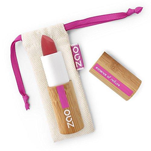 ZAO Soft Touch Lipstick 435 granat-rot matt Lippenstift nachfüllbar (bio, vegan) 101435 -