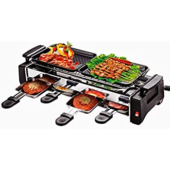 Inditradition 1200-Watt Electric Smokeless Grill and Tandoor Barbecue (Silver/Black)