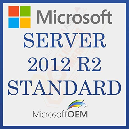 MS Server 2012 R2 Standard 2Core | Con fattura | Versione completa, licenza a vita iniziale, codice di attivazione della licenza e-mail e tempi di consegna del messaggio: da 0 a 6 ore