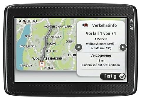 TomTom GO LIVE 825 M Europe inkl. FREE Lifetime Maps & 1 Jahr HD Traffic, 13 cm (5 Zoll) Display, 45 Länder, HD Traffic, LIVE Services, Fahrspur- & Parkassistent, Bluetooth & Sprachsteuerung, IQ Routes, Map (Navi Sprachsteuerung)