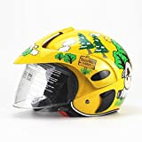 ATpart Motorradhelm, Helm Motorrad Kinder Helm Motorrad Auto Männer und Frauen Baby Schutzhelm