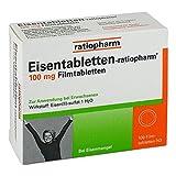 Eisentabletten-ratiopharm 100 stk