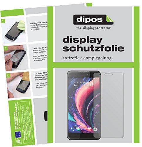 dipos I 6X Schutzfolie matt passend für HTC One X10 Folie Bildschirmschutzfolie