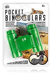 NPW Prismáticos compactos para niños, 4 x 30, Color Verde