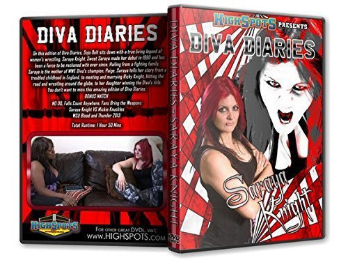 Preisvergleich Produktbild Diva Diaries with Saraya Knight DVD
