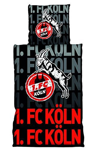 Preisvergleich Produktbild 1. FC Köln Bettwäsche Scribble by 1. FC Köln