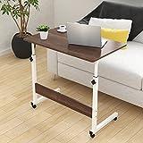 Il tavolino del computer portatile con il comodino da tavolino semplice può sollevare lo scrittorio mobile (dimensione: 60 * 40CM) Tavolini da divano (Colore : A)