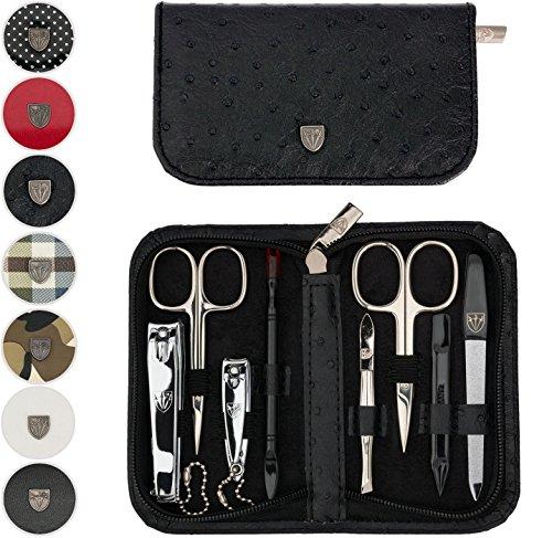 TROIS EPÉES | Kit / set / ensemble / trousse de manicure - manucure - pédicure - beauty / beaute - soins des ongles / personnels / mains / pieds | 8 pièces | DIVERS DESIGN |marque de qualitè (522016)
