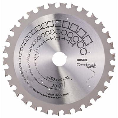 Bosch Zubehör 2608641720 Kreissägeblatt Construct Metal