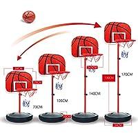 HYZH 83-200cm Portable Stable et hHauteur Réglable Panier De Basket pour Enfants W71EWFjF