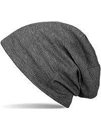 styleBREAKER klassische Unisex Beanie Mütze mit inliegendem Fleece Stoff, gefüttert 04024008