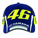 Valentino Rossi VR46 Moto GP M1 Yamaha Racing Team Casquette Officiel 2017