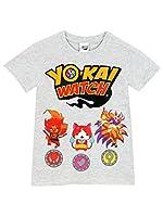 Maglietta di Yo-kai Watch per bambini. Perfetta per i fan dei popolari videogiochi. Chiunque adori questa serie di giochi giapponese andrà pazzo per questa maglietta a maniche corte di Yo-kai Watch, caratterizzata dalle stampe dei personaggi ...