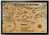 1art1 97549 Jakobsweg - EL Camino De Santiago Anno 1445,