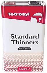 CarPlan STT005 Standard Thinner, White/Red