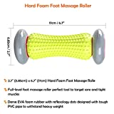 Safeyo Plantar Fasciitis Foot Recovery System - Includes Foot Massage Roller and 2 Spiky Balls - Perfect for Inflammation, Sports, and Trigger Point Therapy on the Feet