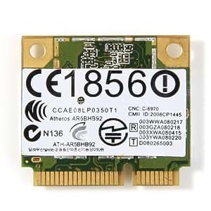 Atheros AR9280 AR5BHB92 Taille WLAN sans fil PCI-E Carte Wifi 802.11a/b/g/n AzureWave NE733H-AW