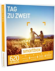 SMARTBOX - Geschenkbox - TAG ZU ZWEIT - 620 Erlebnisse aus den Kategorien Aufenthalte, Abendessen, Wellness, Unterhaltung
