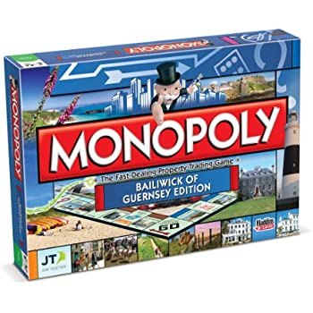 Do it yourself opoly monopoly style board game amazon toys guernsey monopoly board game solutioingenieria Gallery