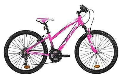 'Mountainbike Mädchen Atala Race Comp 24, Farbe Pink Fuchsia–anthrazit, geeignet bis zu einer Höhe von 140cm