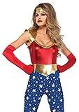 LEG AVENUE 85577 - Kostüm Set Sensationelle Superheld, L, mehrfarbig